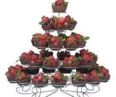 **Cupcakes** Wilton Cupcakes 'n More Metal Dessert Stand