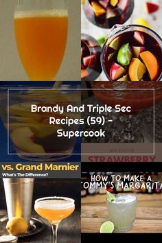 Brandy And Triple Sec Recipes (59) - Supercook Grand Marnier, Triple Sec, Margarita, Cantaloupe, Strawberry, Fruit, Breakfast, How To Make, Recipes