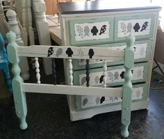 Get creative with... Top midnight sky. Body fluff and drawers sea glass #DixieBellePaint