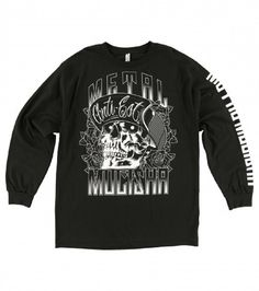 We know you've been waiting for the Metal Mulisha Men... get yours today http://left-coast-threads.myshopify.com/products/metal-mulisha-mens-woodcut-long-sleeve-black-sp7519002?utm_campaign=social_autopilot&utm_source=pin&utm_medium=pin  Join our rewards program, share & earn points!