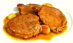 Filetes de lomo al ajillo, una receta sencilla con una salsa espectacular, que puedes preparar en pocos minutos. El lomo de cerdo tiene menos grasa