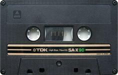 TDK SA-X 90 Audio Cassette Tape - Numérisation Transfert Copie de cassette audio sur CD Audio et MP3 Pro - www.remix-numerisation.fr