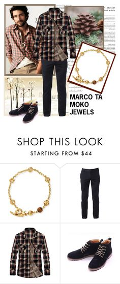 """Marco Ta Moko 85"" by barbara-996 ❤ liked on Polyvore featuring Marco Ta Moko, J.Crew, Urban Pipeline, men's fashion and menswear"
