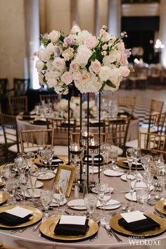 Fab flowers   WedLuxe– Checkerboard Romance   Photography by: Mango Studios Follow @WedLuxe for more wedding inspiration!  #wedluxe #wedluxemagazine #weddingdecor #weddinginspo #inspo #flowers