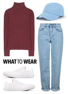 """what to weat for daily style"" by arainaisna on Polyvore featuring T By Alexander Wang, Topshop and Converse"