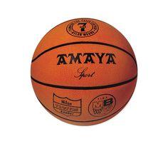 Balón baloncesto cuero sint. termosoldado 24 cm