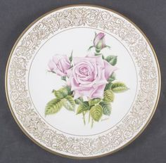 The Royal Highness Rose Decorative Plates, Christmas Ornaments, Rose, Tableware, Pattern, Home Decor, Objects, Xmas Ornaments, Homemade Home Decor