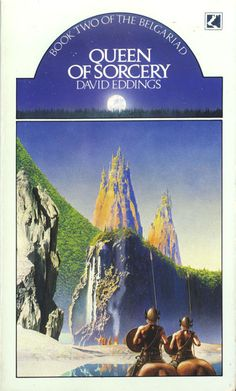 Queen of Sorcery: Book Two of the Belgariad by David Eddings Fantasy Book Covers, Fantasy Books, Fantasy Art, Physical Comedy, Star Students, Military Careers, Hero's Journey, Story Characters, One Night Stands