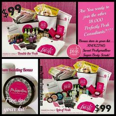 When are you going to stop watching all the fun, pampering, travel and money being made and join in on all of it? Perfectly Posh is not like any direct sales company out there. Find out all about it on my personal site under the join posh now tab www.PoshYourTroublesAway.com