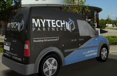 Tech Vehicle Wrap