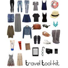 Travel Tool-Kit by jessicaacoates, via Polyvore
