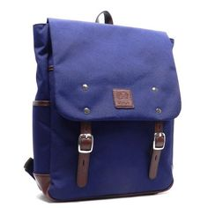 Blan_C Belt Canvas flap over I Pad laptop form padded Pockets L backpack Bag ** Learn more by visiting the image link.