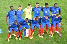 Equipos de fútbol: SELECCIÓN DE FRANCIA en la Eurocopa 2016