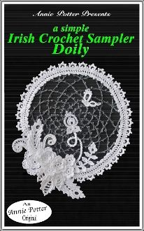 Irish Sampler Doily
