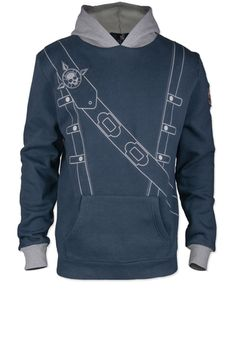Become the famous Edward Kenway captain by wearing the Assassin's Creed Black Flag - Edward Kenway Hoodie
