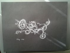 Playful - Original Abstract Ink Drawing by AmieClay on Etsy, $25.00