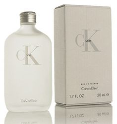 CK One Calvin Klein for women and men