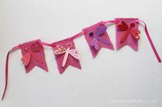 A darling DIY dragonfly banner!