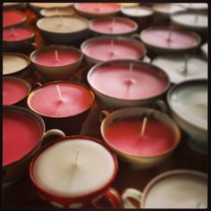 www. Teacup Candles, Tea Lights, Tea Cups, Tea Light Candles, Cup Of Tea