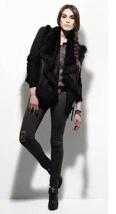 True Badd@ss fashion! Loving this look! #INTERMIX