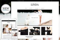 Linda - Responsive WordPress Theme by Themes Art on @creativemarket