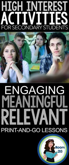 Looking for engaging activities that promote real learning? Want your students to think critically and have fun? Check out the lessons in Room Middle School Ela, Middle School English, Instructional Strategies, Teaching Strategies, Education English, Teaching English, Secondary Teacher, School Classroom, Classroom Ideas