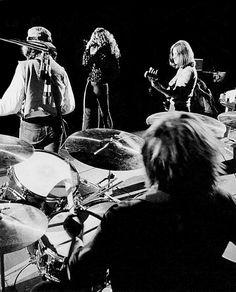"""""""Led Zeppelin rocking live on stage, 1970. """""""