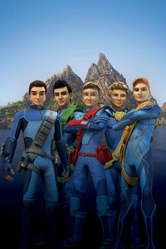 Tracey Family - Thunderbirds Are Go TV series 2015 サンダーバード Are Go, Go Tv, Thunderbirds Are Go, Jackson, Den Of Geek, Trailer, Scion, Animation Series, New Shows