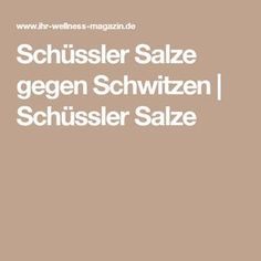 Schüssler Salze gegen Schwitzen | Schüssler Salze Health And Beauty, Food And Drink, Sport, Food, High Blood Pressure, Blood Pressure, Health And Wellness, Health And Wellbeing, Deporte