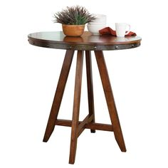 Siskiyou Round Counter Height Dining Table