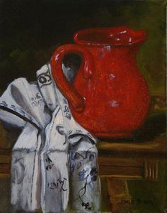 Pitcher with Italian Linen