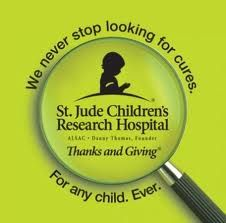St. Jude Children's Research Hospital...     Please do not forget, there are many organizations who depend on our donations!