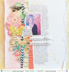 In the mood to scrap layout and video: Living out loud by Wilna - Two Peas in a Bucket