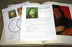 Gauguin Notebooking Pages
