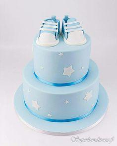 Babyshower kakku tennarilla
