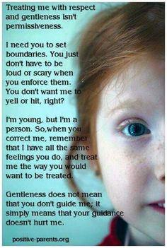 Behandel je kind zoals je zelf behandeld wilt worden