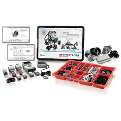 Lego Mindstorm Core Set 45544 - New This pack includes all you need to teach using LEGO® MINDSTORMS® Education It enables students to build, program, Instructional Technology, Educational Technology, First Lego League, Classroom Solutions, Lego Mindstorms, 21st Century Skills, Education And Training, Legos, Teaching Kids