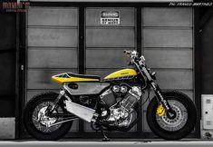 Yamaha Virago 535 Flat Track by Dino Maltoni