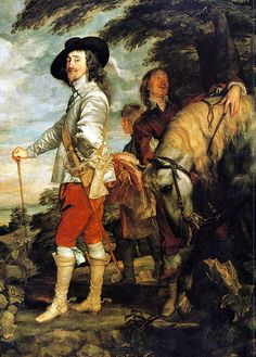Charles I, Hunting Excursion, 1635   King of England from 1625 to 1649 Anthony Van Dyck, Sir Anthony, Roi Charles, King Charles, Art Et Architecture, Oil On Canvas, Canvas Art, Baroque Art, Royal Academy Of Arts