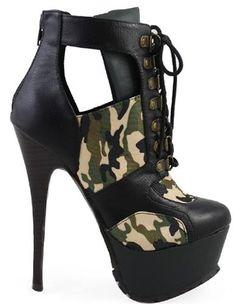 Army boot heel