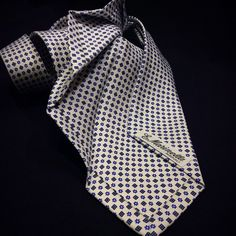 Try white, try our 9 fold ties