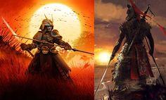 """El guerrero Samurái fue un guerrero de élite, su nombre significa """"el que sirve"""", su origen fue en el Japón feudal..."""