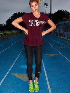 Campus Leggings - PINK - Victoria's Secret