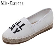 Slip on Ladies Shoes Flat Women Canvas Shoes Women Flats Loafer 2017 Spring Summer Casuals Shoes Round Toe Fashion Shoe Woman