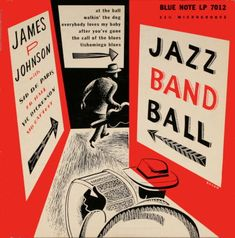 """jazz band ball"" james p. johnson's blue note jazzmen 1944"