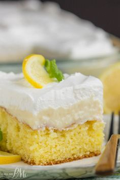 Lemon Icebox Cake wa