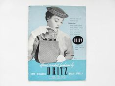 1954 Hand-Crochet Fashions by Dritz Instruction Booklet Volume