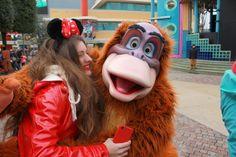 Disneyland Paris Resort / Disney/ Minnie Mouse /Photography / Fotografía / The Jungle Book / El libro de la selva / Monkey / mono