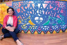 """Muchísimas felicidades to my gran amiga Aurora of La Casa Azul Bookstore! Today, Chase announced that the bookstore is one of the 2015 """"Mission Main Street"""" grant recipients. Spanish teachers, if you are *ever* in New York City, this place is a MUST visit!"""