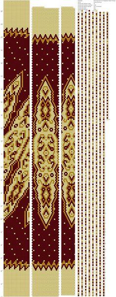 Схемы жгутов из бисера крючком от Марии Глуховой                              …